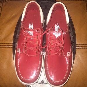 RARE- Nike Women Boat Shoes